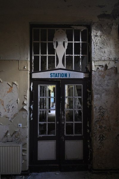 entrance to station I sanatorium e