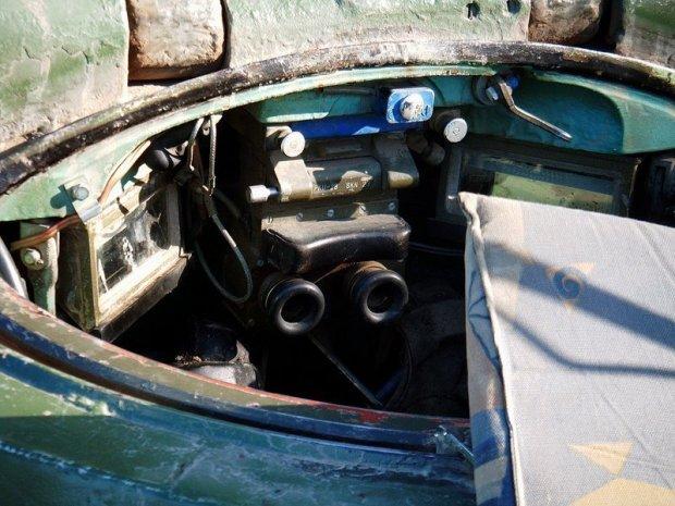 T55 Tank Commander Seat