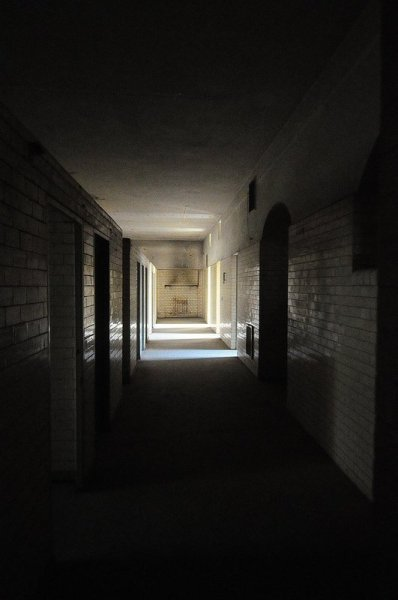 Hallway in the Bath Section of the Stadtbad Oderberger Straße