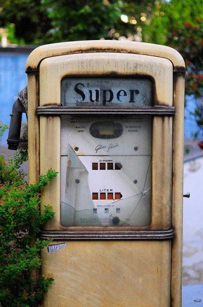 super benzin zapfsaeule
