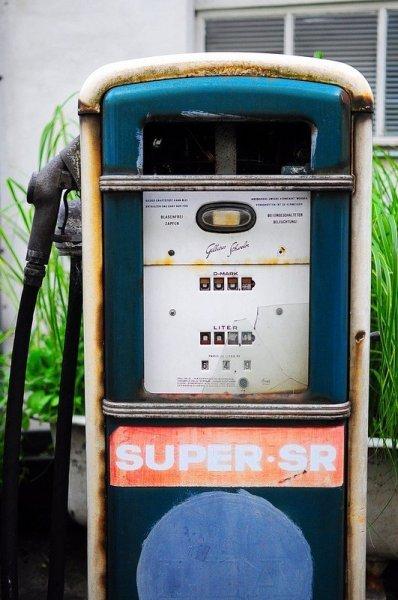 super sr benzin zapfsaeule