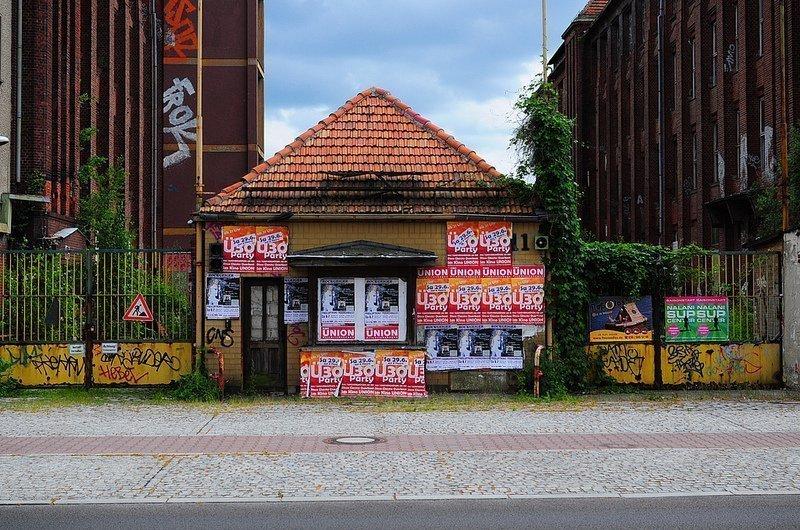 VEB Kabelwerk Koepenick Factory Entrance