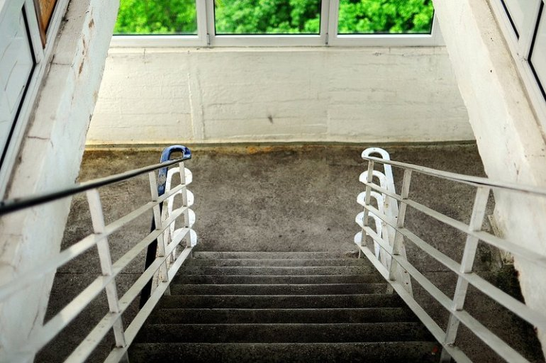 müggelturm treppenhaus