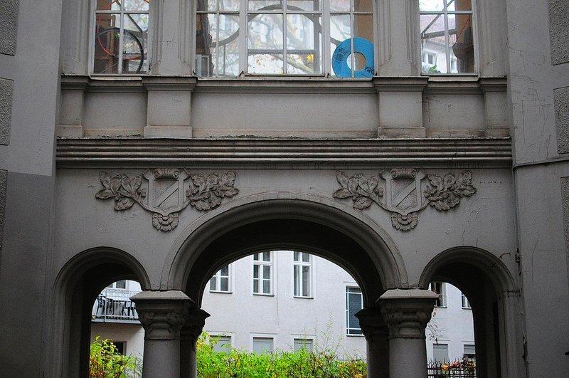 facade schoenhauser allee 88 berlin