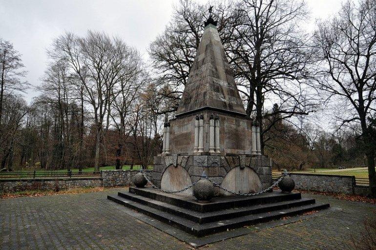 seiten ansicht sowjetisches ehrenmal buch