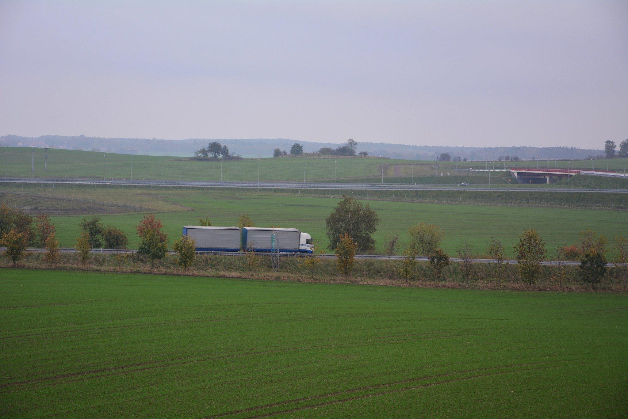 truck autostrady poland