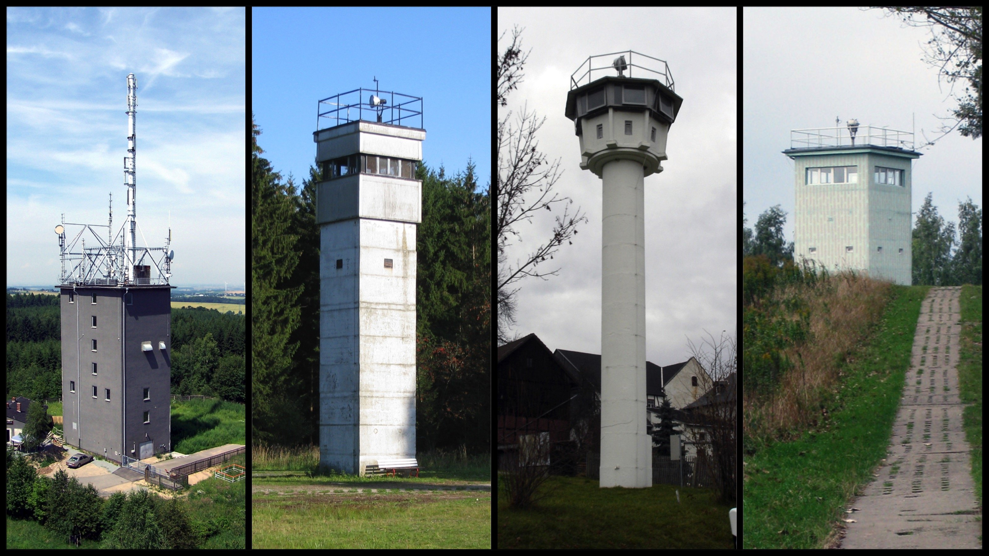 ddr watchtowers types