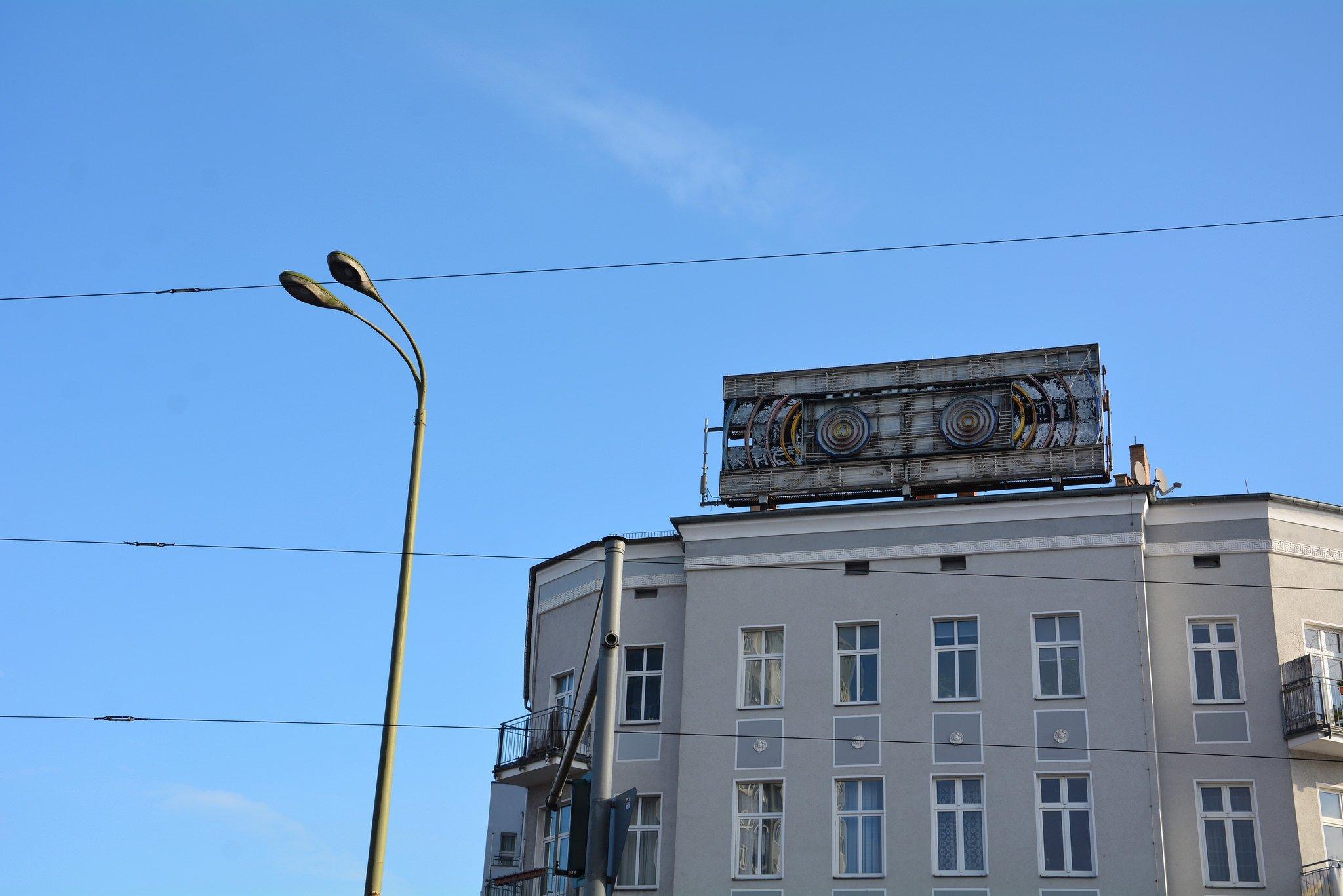 neon sign stern radio berlin greifswalder str prenzlauer berg friedrichshain
