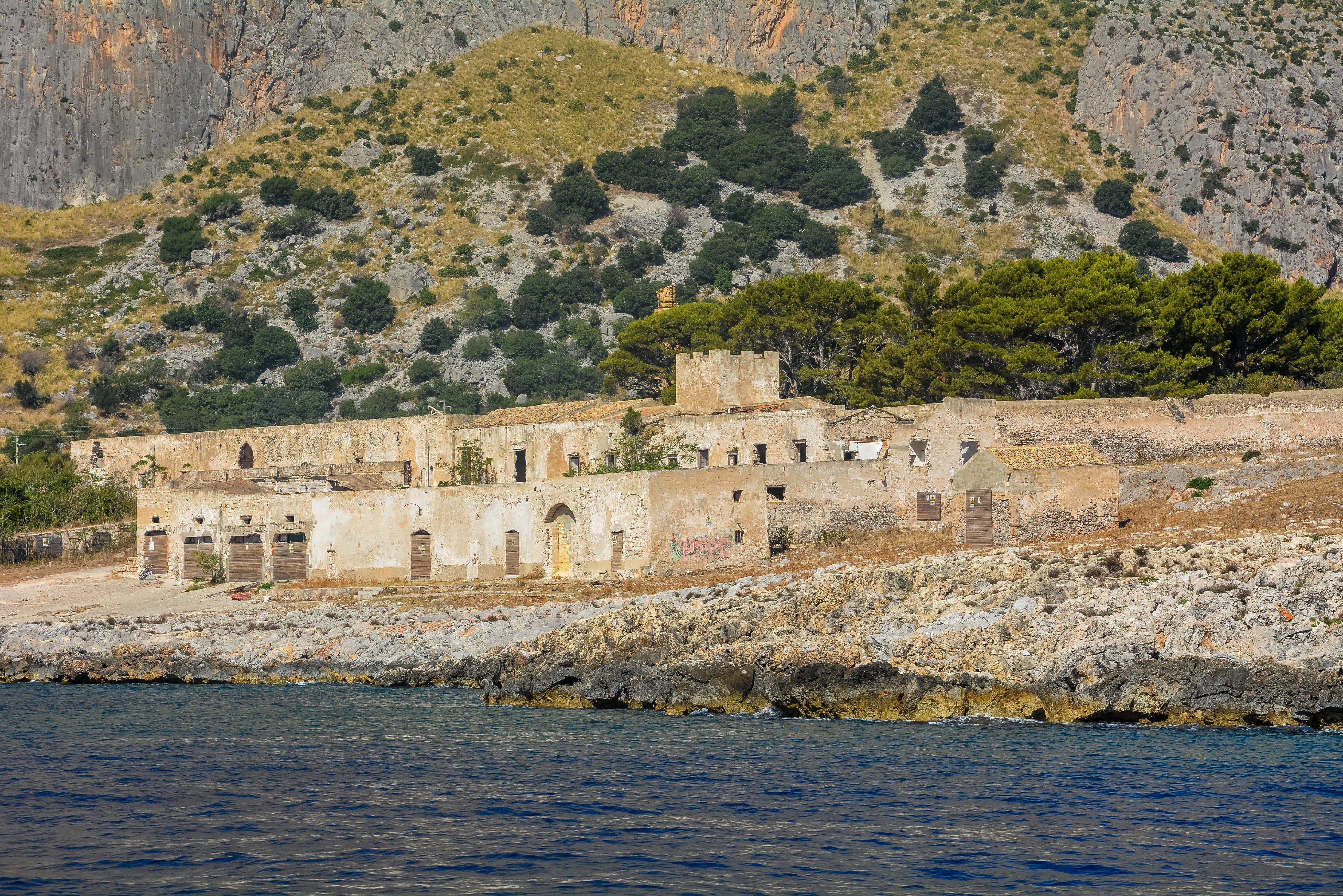 san vito lo capo tonnara del secco abandoned urbex lost places italy sicily ocean view