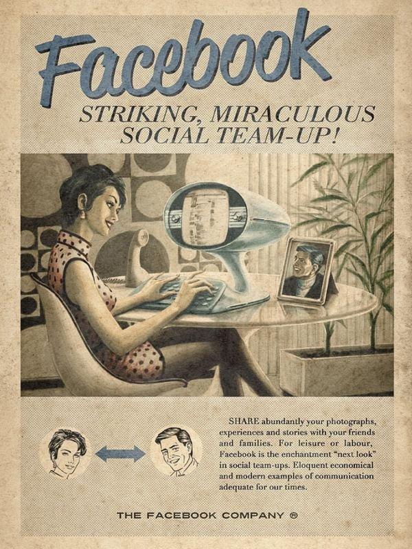vintage facebook by moma propaganda