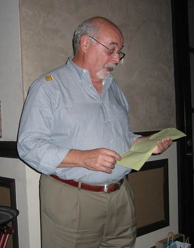Gary Lessner, TAAN President, wrapping up Naples, Florida meeting on February 3, 2007