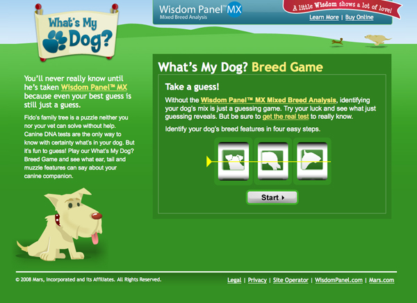 """""""What's My Dog's Breed?"""" Game at www.WhatsMyDog.com"""