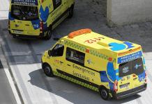 accidente-trafico-colision-menor-mujer-hombre-varon-herido-heridas-fallece-falelcidos-herido-112-castilla-leon-emergencias-ambulancia