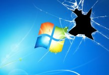 Grave y vital error en Windows 7