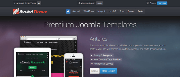 ROCKET THEME WORDPRESS THEMES REJI STEPHENSON