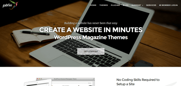 GABFIRE WORDPRESS THEME SHOP REJI STEPHENSON