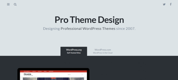 PROTHEME DESIGN WORDPRESS THEME SHOP REJI STEPHENSON