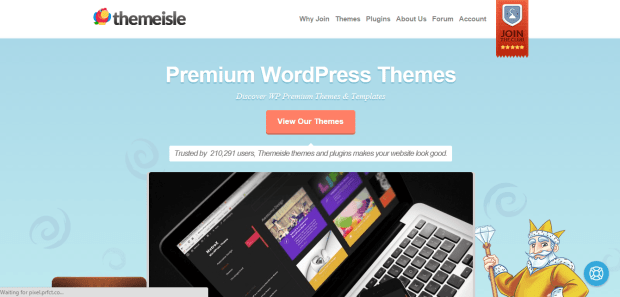 THEMEISLE WORDPRESS THEMES REJI STEPHENSON
