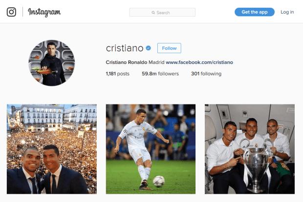 Reji Stephenson Christian Ronaldo