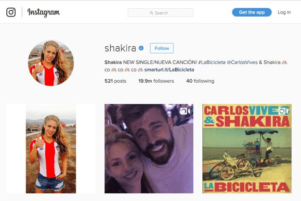 Reji Stephenson Shakira