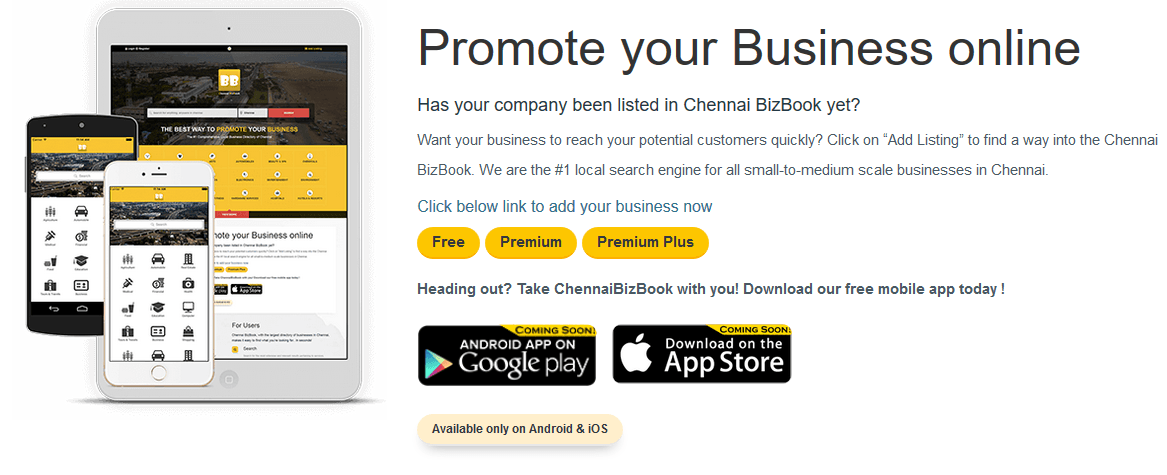 Chennaibizbook com, An online business directory to enhance