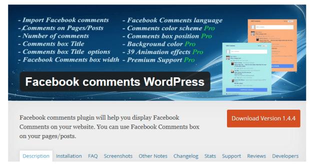 facebook-comment-plugin