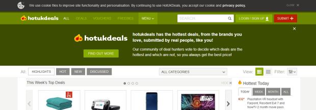 Deal coupon sites uk