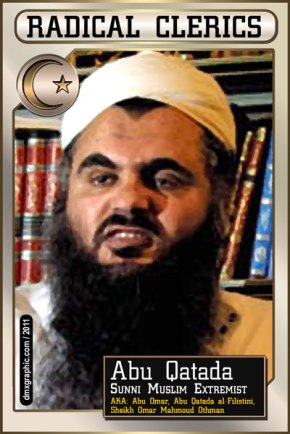 Radical Cleric Card: Qatada