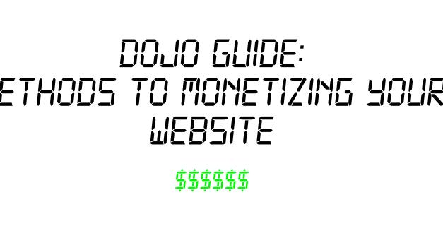 Methods to Monetizing your Website