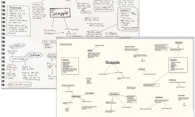 [Sponsor] Quickly Record Ideas w/Scapple