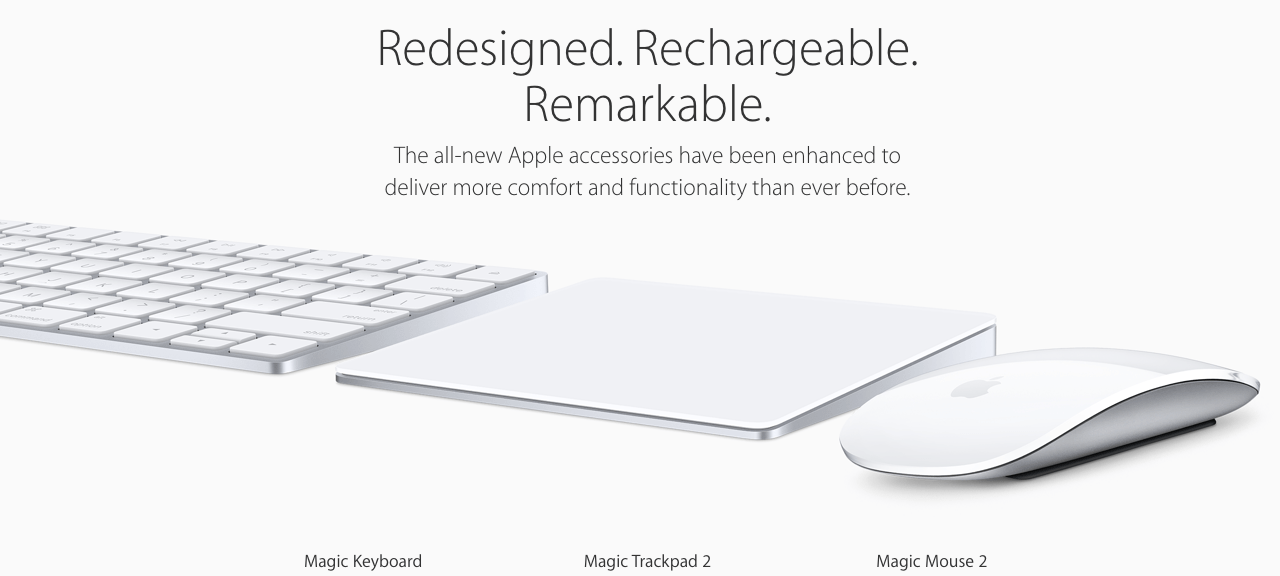 Apple's New Magical Accessories