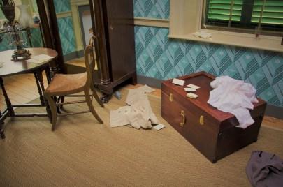 View of John Payne Todd's room