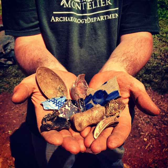 Montpelier Archaeology Collections