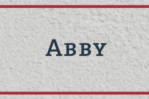 The Naming Project: Abby