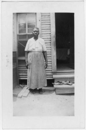Millie Ann Smith, ex-slave, Marshall