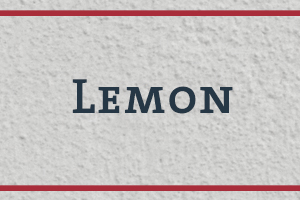 The Naming Project: Lemon
