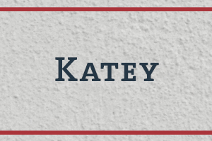 The Naming Project: Katey