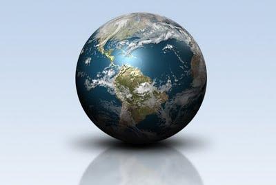 3 boyutlu dünya tasarımı