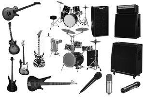 Photoshop gitar fırcaları