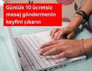 Vodafone günde 10 web sms bedava