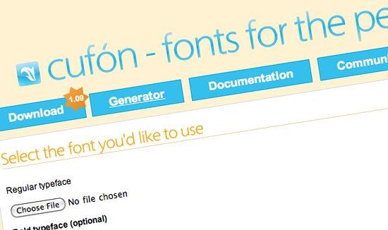 İstediğin yazı fontunu kullanma