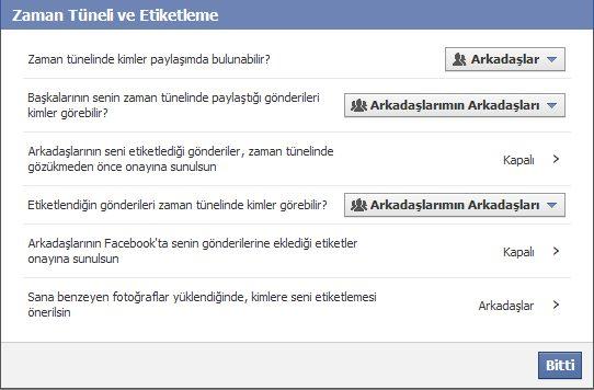 Facebook da izinsiz etiketlemeye son verin