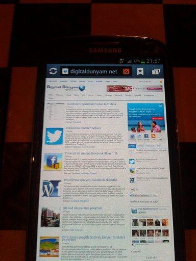 Samsung galaxy s3 inceleme ve özellikleri