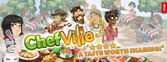 Facebook aşcılık oyunu ChefVille