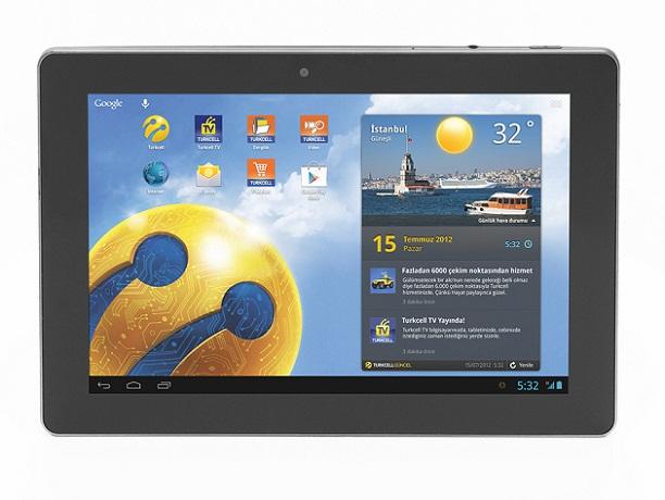 Ayda 59 TL ye herşey dahil Turkcell tablet