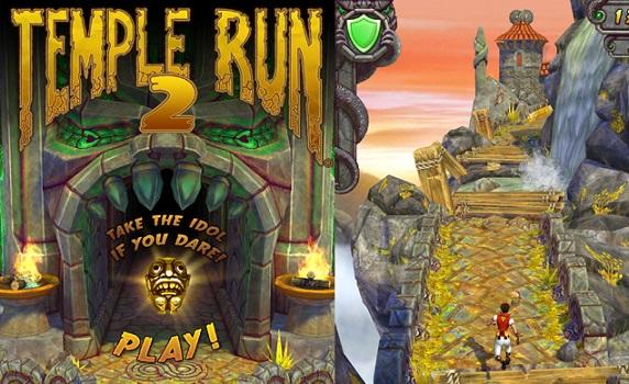 Temple Run 2 sınırsız altın ve kristal
