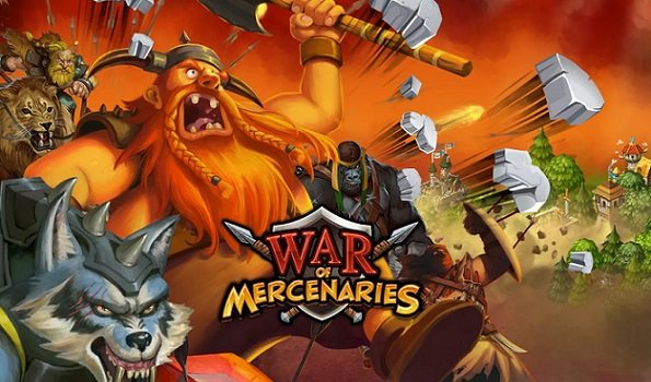 War of Mercenaries yeni strateji oyunu