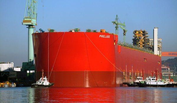 Prelude dünyanın en büyük yük gemisi