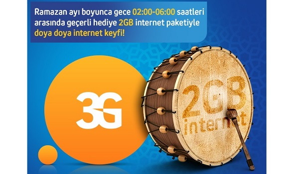 Avea Turkcell Vodafone 2014 ramazan kampanyaları