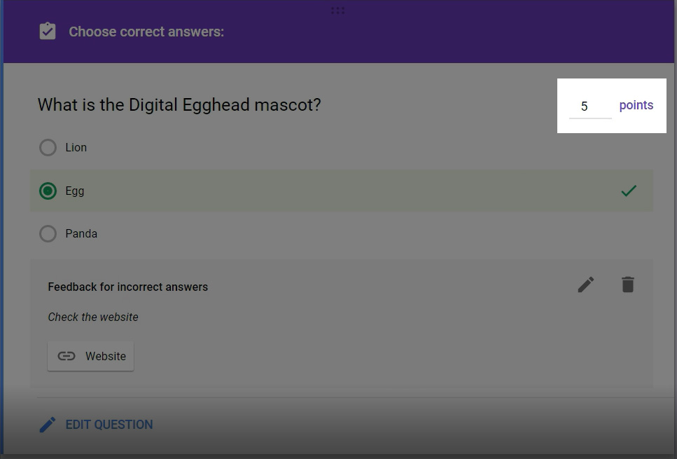 Creating Quizzes With Google Forms - Digital Egghead